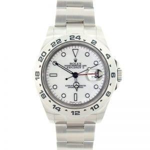 Best Stainless Steel Rolex Watches Under $5000: Explorer II