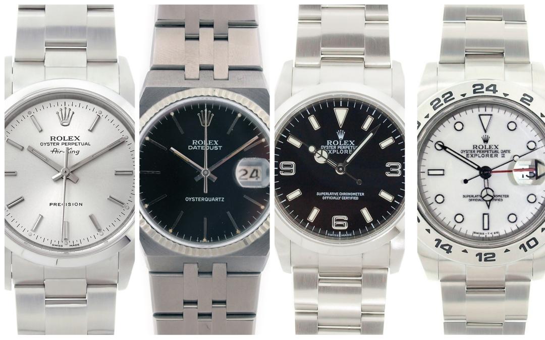 4 of the Best Men's Stainless Steel Rolex Watches Under $5,000