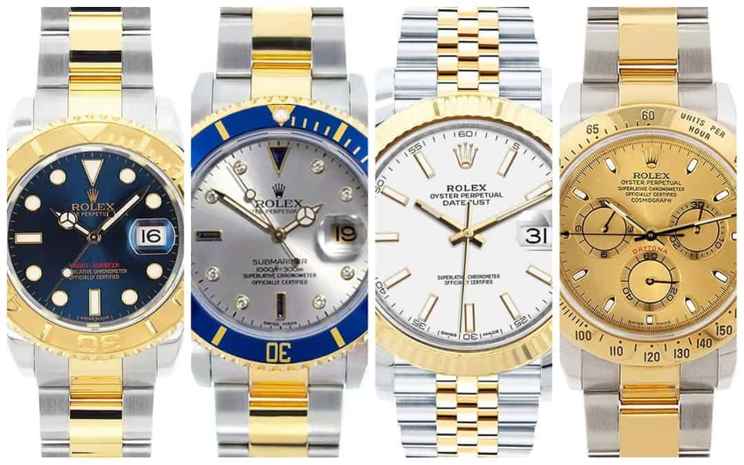 The Best Men's Two Tone Rolex Watches Starting from Under $9,000