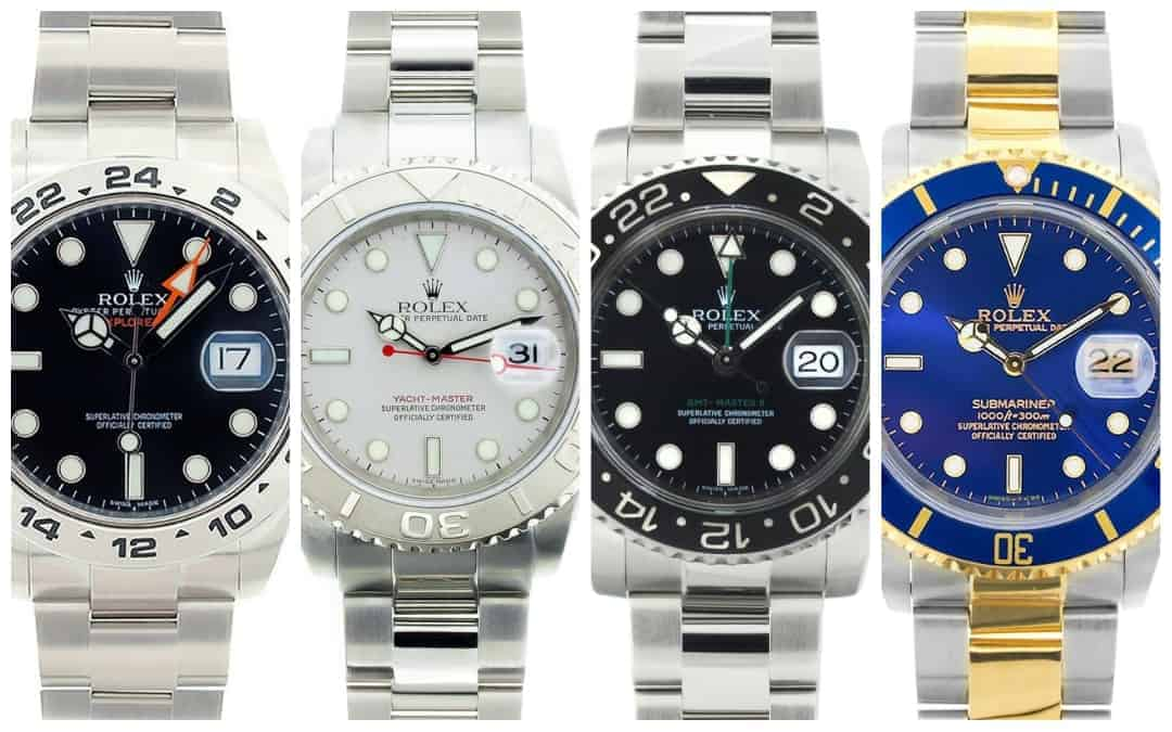 4 of The Best Men's Rolex Sports Watches Under $8,000