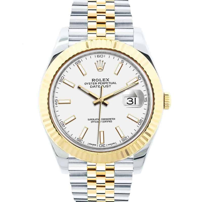 Two-tone Rolex Datejust 41 ref. 126333