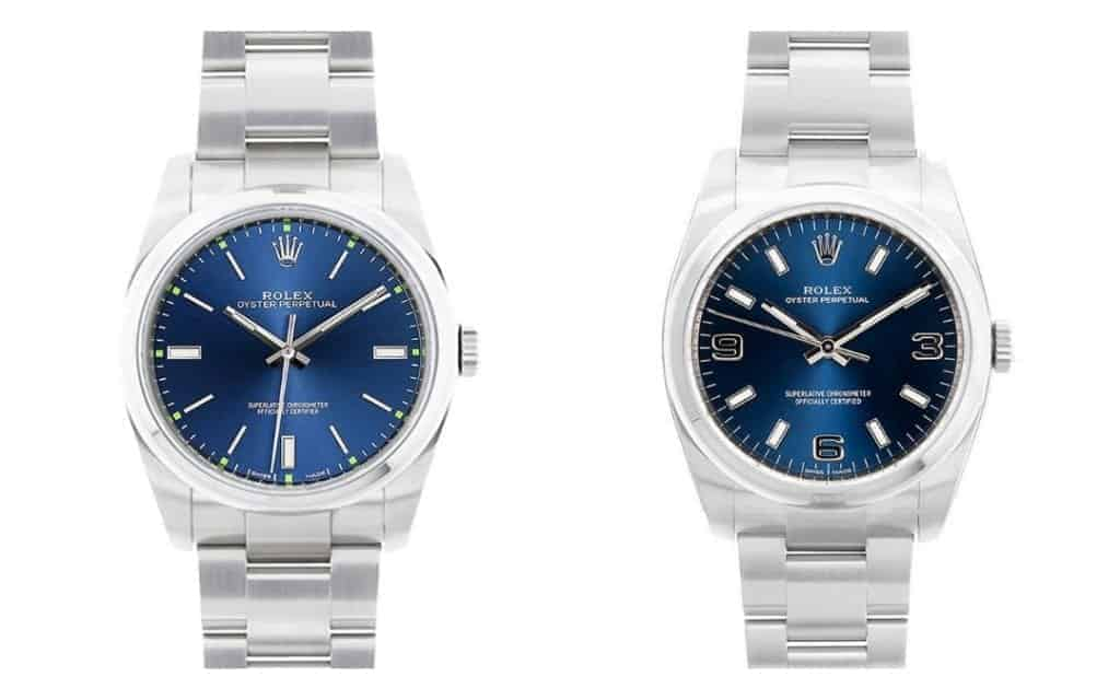Starter Rolex Oyster Perpetual 114300 vs 116000