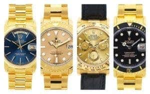 Best Men's Yellow Gold Rolex Starting from $11,500