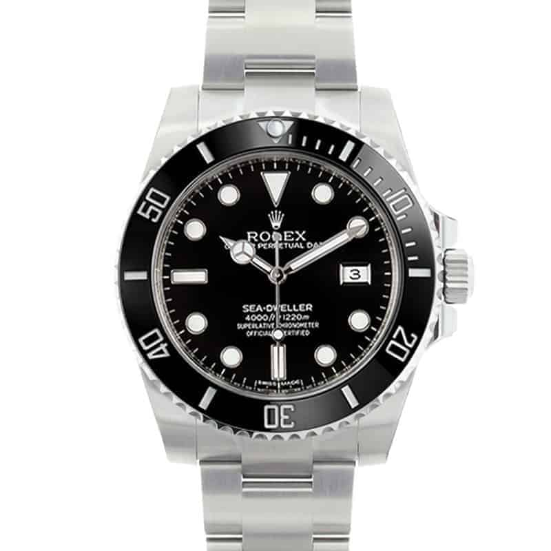 Rolex Watches With Cerachrom Bezels: Sea-Dweller