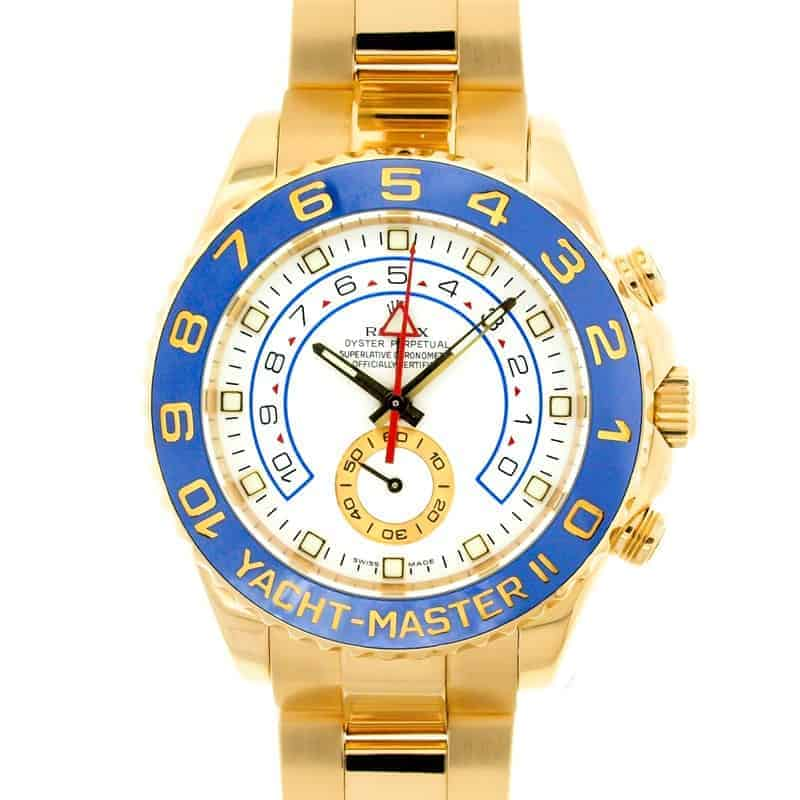 Rolex Watches with Cerachrom Bezels: Yacht-Master II