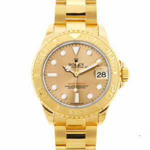 Yellow Gold Rolex Yacht-Master 40 16628