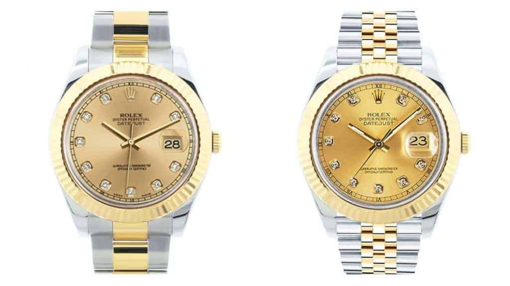 Rolex Datejust II vs. Datejust 41