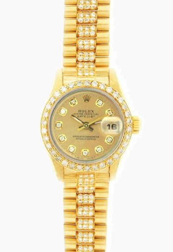 rolex lady fully loaded president