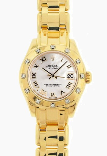 rolex lady pearlmaster