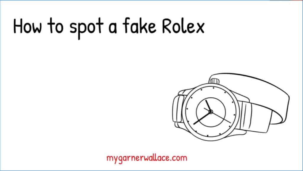 how to spot a fake rolex quick tips video first frame